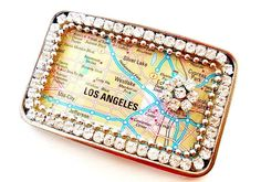 Map Belt Buckle You Pick Your Location by PaperAndPlace