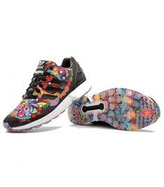 Adidas Zx Flux Mujer Multicolor