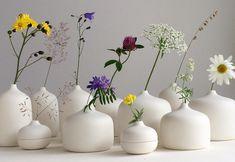 Flowering of July. #july#wild#flowers #hay#handcrafted #porcelain #vase#design #jattalavi #ceramics #helsinki #finland. Jatta Lavi