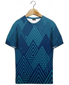 Indigo Forest as All-Over Print T-Shirt by Angelo Cerantola | JUNIQE
