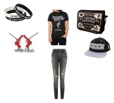 """My Chemical Romance"" by danielle-bff-renee on Polyvore featuring Citizens of Humanity"