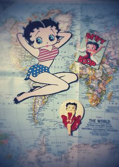 Check out this item in my Etsy shop https://www.etsy.com/listing/398650453/betty-boop-magnets
