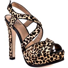 Heels I Love...  Pour La Victoire    Helice - Leopard