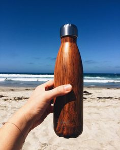 Even on the hottest of summer days, your S'well bottle will keep your beverage icy cold Swell Water Bottle, Water Bottle Design, Water Bottles, Thermal Flask, Water Well, Summer Essentials, Travel Gifts, Summer Days, Deco