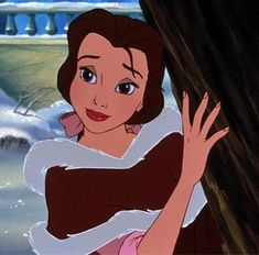"Belle ""Something There That Wasn't There Before"" snow ball fight scene"