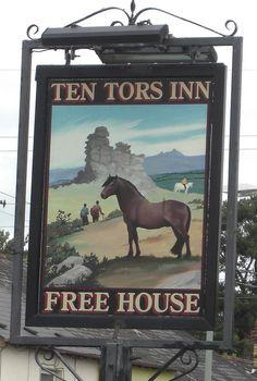Ten Tors Pub Sign in Kingsteignton Devon | Flickr - Photo Sharing!