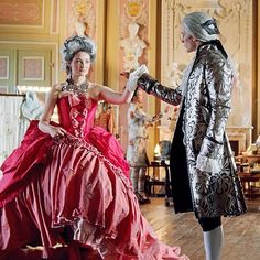 Joyce Meredith Williams dancing with her fiancé, Adrian Hosea McLean Red Blue Green, Emerald Green, Gwendolyn Shepherd, Anton, Red Sapphire, Movie Costumes, Cute Love, Ruby Red, Cute Couples