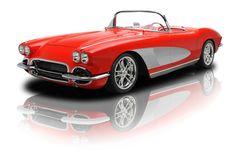 1962 Chevrolet Corvette Red