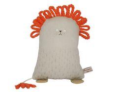 León de peluche juguete Animal peluche León bordado por poosac