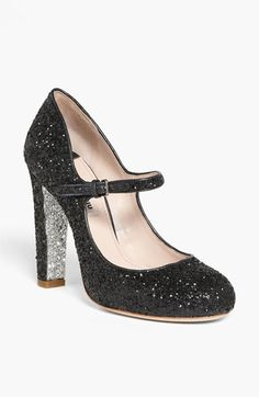 Miu Miu Glitter Mary Jane Pump | Nordstrom blair would so wear these while at Constance