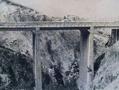 Antigua carretera Caracas - La Guaira. 1ro de Marzo de 1932.