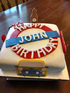 70th birthday cake - British style!