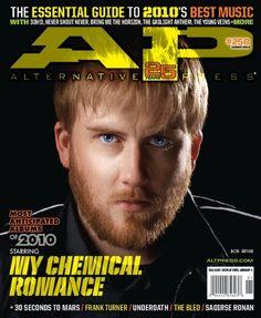 AP 258 // Jan. 2010 // My Chemical Romance (Bob Bryar)