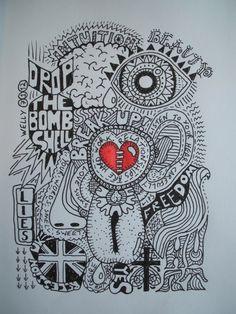 break up doodle