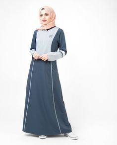 34e9c27a4179e Tonal Blue Sports Jilbab