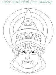 Girl Mask Printable Coloring Pages Worli Painting, Saree Painting, Kerala Mural Painting, Fabric Painting, Madhubani Art, Madhubani Painting, Pottery Painting Designs, Paint Designs, Outline Designs