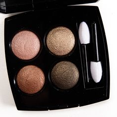 Chanel Codes Subtils (278) Les 4 Ombres Multi-Effect Quadra Eyeshadow Quad Review, Photos, Swatches