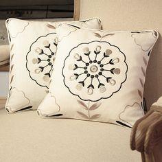 Pair of designer armchair Pillow  Clarke & Clarke by emeisonCOM
