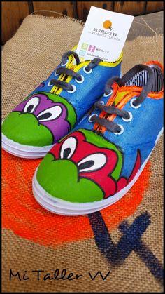 Zapatillas de Tortugas Ninjas
