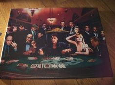 Celebrities Playing Poker -- painting, promo photo, etc.
