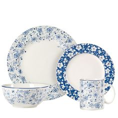 I pinned this 16 Piece Pfaltzgraff Dinnerware Set from the A Cozy Breakfast Nook event at Joss & Main!