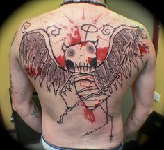 Tattoo by Ran Maclurkin by Needles and Sins (formerly Needled), via Flickr