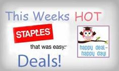 Staples Back-To-School Deals Week of August 24th
