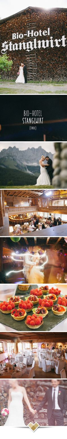 Heiraten im Stanglwirt in Going in Tirol. Diese tiroler Hochzeits-Location bietet traditionelles, typisch-tirolerisches Ambiente. Mehr zu dieser Tiroler Hochzeitslocation: http://hochzeits-location.info/hochzeitslocation/bio-hotel-stanglwirt  Fotos © Forma photography, http://www.formafoto.net/