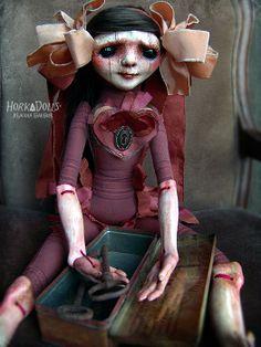 art doll ISELA HorkaDolls