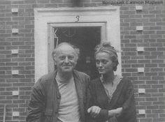 Иосиф Бродский с женой Марией Соццани