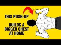 Build A Bigger Chest At Home With This Extreme Push-Up Exercise - SixPackFactory