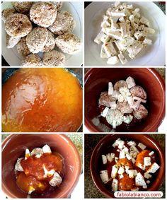 Almôndegas de frango com molho ao sugo Dukan