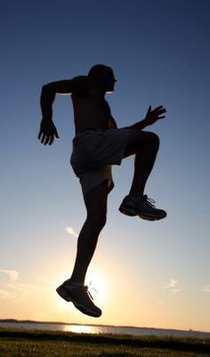The 10-minute plyometric workout for runners. Runners who replaced 1/3 of their normal running with plyometrics improved their race times; runners who continued with their normal running schedule did not.