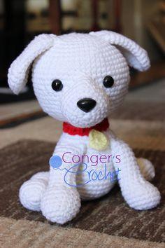 Puppy by CongersCrochet on Etsy, $21.00