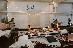 Boho Hens Party ♡ Styled by Home Thugs & Harmony | Grazing by KaraKara | Clothing by Through The White Door | Venue The Raw Kitchen Studio