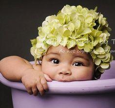 DIY Learn How to Make a Newborn Infant Flower Petal hat like an Anne Geddes baby! Cute Photo prop! Tutorial