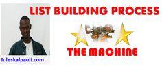 List Building Process -The Machine Part 2