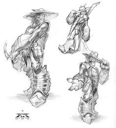 Image result for stranger's wrath concept art