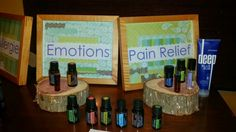 #doTERRA #booth Basic way to display the oils. ...