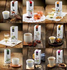 Yebon Tea Packaging System - Daim Yoon: more great tea packaging PD
