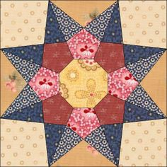 Country Rose Quilts: Block 22