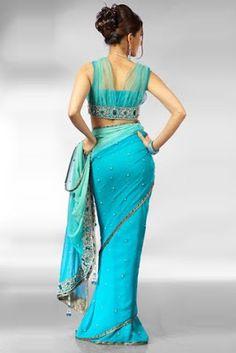 Fashi0nmaza123: Latest Saree blouse back designs–New Designer Sarees-Saaris