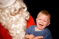 How to Get Children Through Santa Pictures (Without Scars) - If getting a picture with Santa is important to you, I'm going to put my psychotherapist hat on to give you these 10 suggestions for making your session go as smoothly as it can! #parenting #toddlers #santavisits