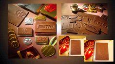 Chocolate com a sua marca