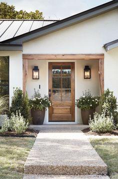 Ranch Exterior, Modern Farmhouse Exterior, Farmhouse Front, Exterior Remodel, Farmhouse Shutters, Rustic Shutters, Repurposed Shutters, Diy Shutters, Farmhouse Decor