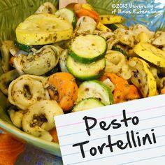 Recipes for Diabetes: Pesto Tortellini