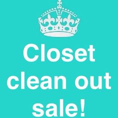 ‼️Closet sale‼️ ‼️Cleaning out the closet to make room for new goodies! All prices have been reduced for this weekend only! Take advantage of the low prices!! Sale ends Sunday!‼️make an offer!!‼️ Dresses