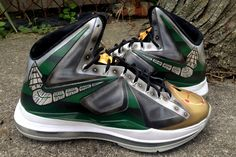 DEJESUS CUSTOM NIKE LEBRON X (DRAGONZORD) Nike Lebron 34efb8ada