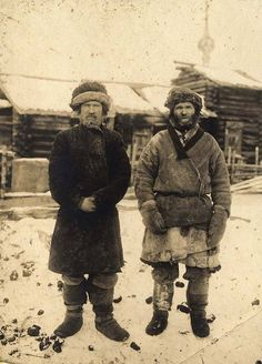 Photo taken during an expedition to Yenisei Province in West Siberia - 1911 Old Pictures, Old Photos, Vintage Photos, Ukraine, Russian Revolution, Imperial Russia, The Old Days, Soviet Union, Eastern Europe
