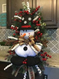 Snowman Wreath, Christmas wreath, Christmas Door wreath, Door Decor, christmas Decor About may slightly change with availability. Christmas Door, Rustic Christmas, All Things Christmas, Christmas Ornaments, Christmas Kitchen, Christmas Centerpieces, Xmas Decorations, Holiday Wreaths, Holiday Decor